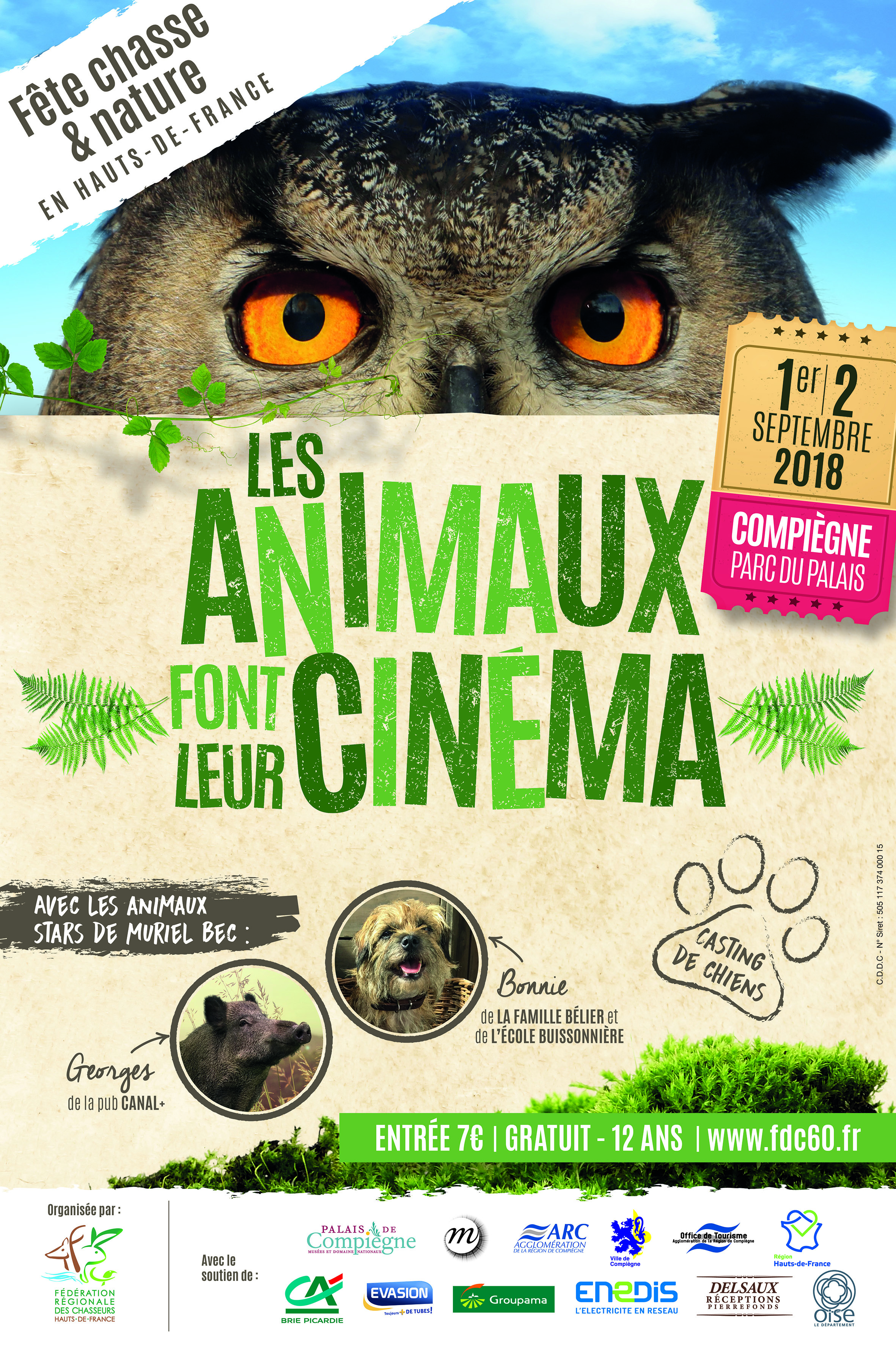 Affiche Fête chasse_2018
